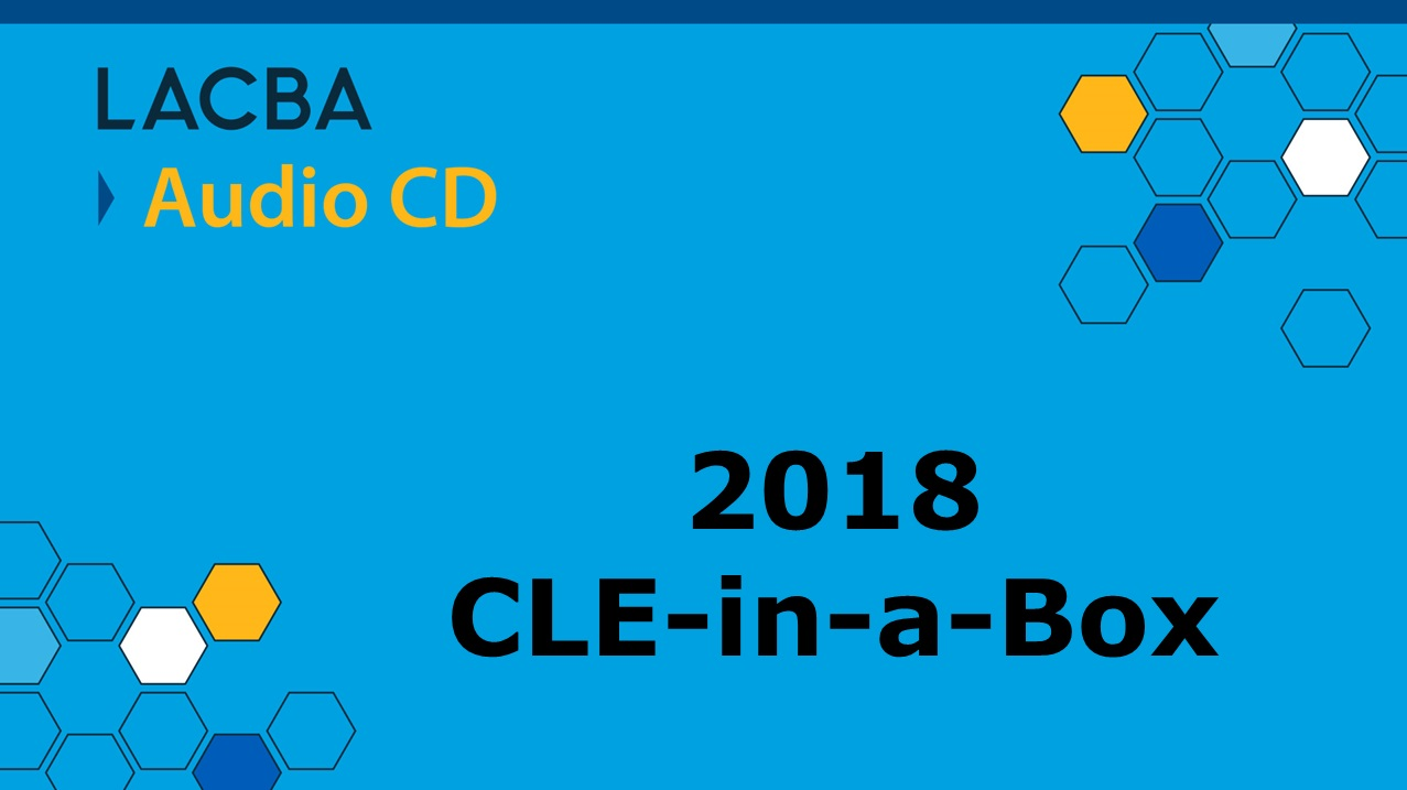 2018 CLE-in-a-Box