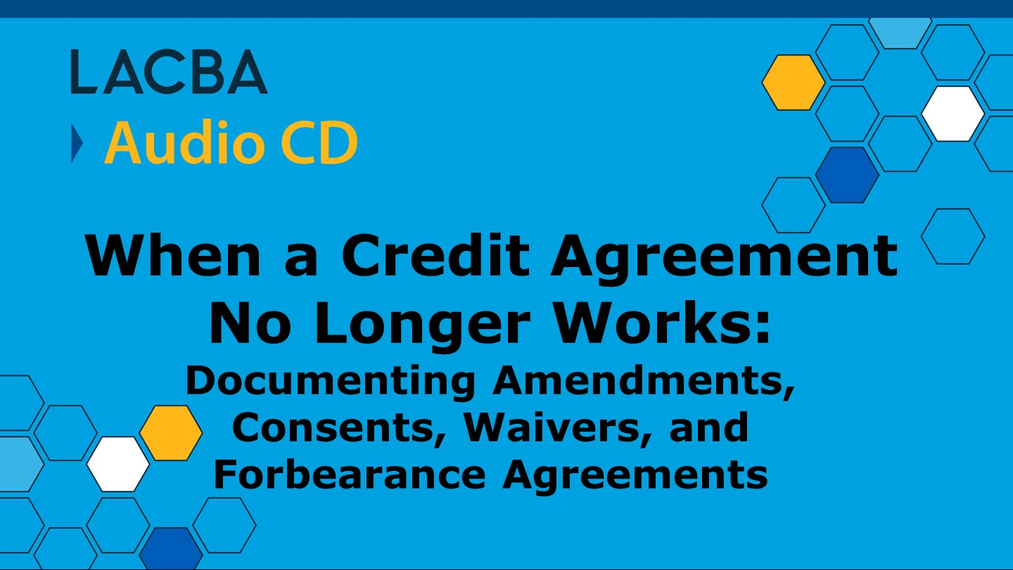 Commercial Law & Bankruptcy Audio CD Program 1/14/16