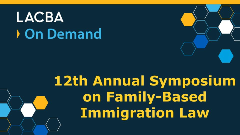 Immigration Law On Demand Program 3/7/20